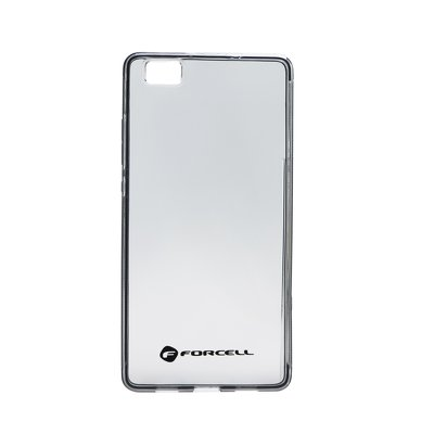 FORCELL Clear Case HUAWEI P8 LITE czarny