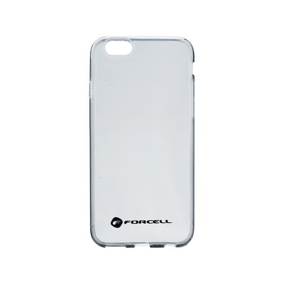 FORCELL Clear Case IPHO 6/6S czarny